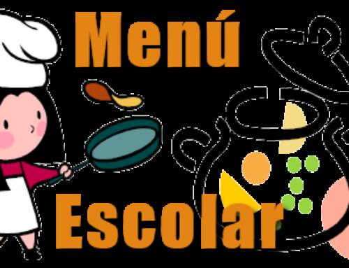 Menús de junio del Comedor Escolar