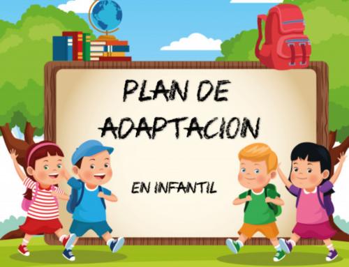 Periodo de adaptación para el alumnado de Educación Infantil 2021/2022